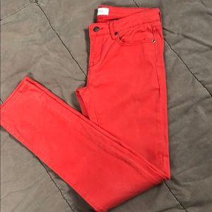 Workshop Andrea Jovine Orange Skinny Jeans Size 4